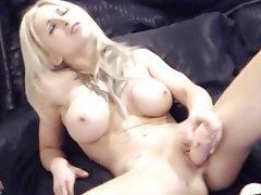 Amateur, Big Boobs, Blonde, Blowjob, Webcam