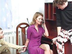 Milf double penetration smut for sensual milf double penetration