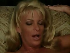 Blowjob, Facial, Interracial, Blonde