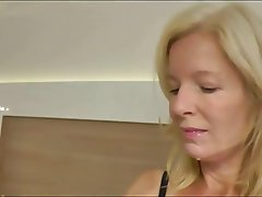 Blonde mature anal   frmxd com
