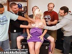 Amateur, Big Boobs, Blonde, Bukkake, MILF