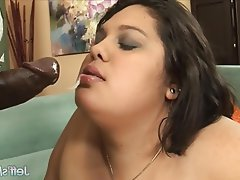 Bbw latina interracial