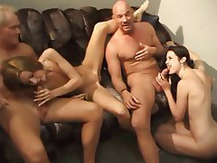 Amateur, Blowjob, Threesome, Blonde, Brunette