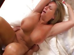 Big tits milf loves black cock