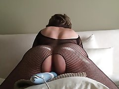 Lingerie, Masturbation, Mature, Orgasm