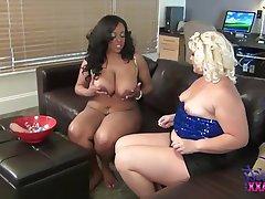 BBW, Big Boobs, Big Butts, Interracial, Lesbian