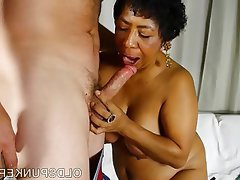 granny black Old mature