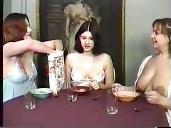 Lesbian milking Mature