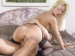 Blonde, Hardcore, Pornstar, Stockings