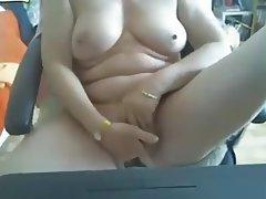 Brazil, Granny, Mature, Masturbation, Webcam