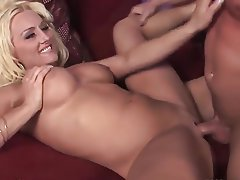 Big Boobs, Blonde, Facial, Mature, MILF