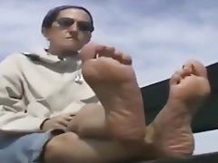 Foot Fetish, MILF, Wife