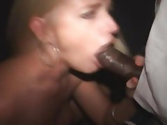 Amateur, Blowjob, Creampie, Interracial