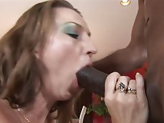 Interracial, MILF, Blowjob, Big Boobs