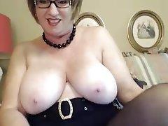 BBW, Granny, Webcam, Masturbation