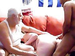 IR Threesome for Amateur BBW
