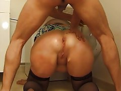 With you Mature bbw anal porn