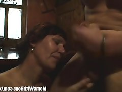 Granny, Mature, MILF, Old and Young, Redhead
