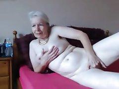 Granny, Masturbation, Mature