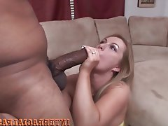 Anal, Big Cock, Blonde, Interracial, Black Cock