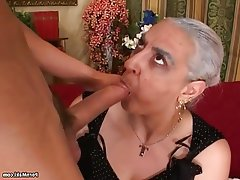 Big Cock, Granny, Hairy, Mature