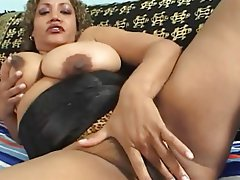 Tits big mature ebony