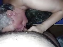 BBW, Granny, German, Cum in mouth