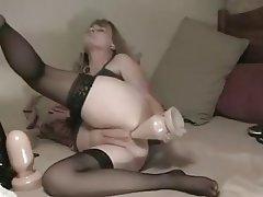 Mature homage anal