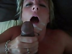 Amateur, Blowjob, Cumshot, Facial, Interracial