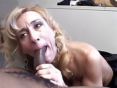 Interracial wife mature facial