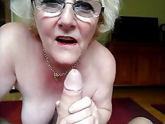Grannies sucking cock mature