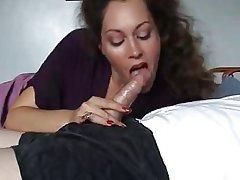 Sexy milf blowjob cumshot