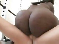 BBW, Big Butts, Cumshot, Interracial