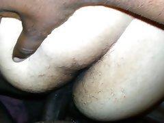 Something is. Bbw interracial creampie