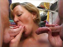 Mature big tits anal porn