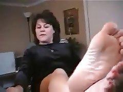 Mature feet fetish lesbian