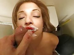 Amateur, Blowjob, Mature, Facial