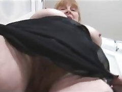 Big Boobs, Blonde, Granny, Hairy, Stockings