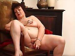BBW, Big Boobs, Brunette, Masturbation, Mature
