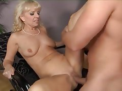 Gilf blonde amateur mature