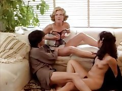 German hairy granny mature in black lingerie threesome troia takes hard cock in the ass all the way tmb