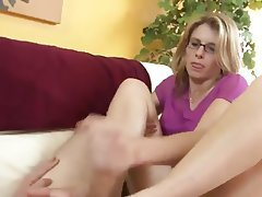 Mom and son feet porn