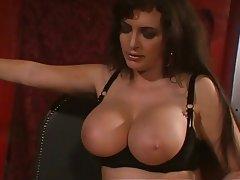 BDSM, Big Boobs, Brunette, Femdom, Pantyhose