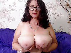 Sexy wife dancing naked