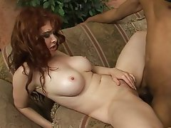 My naked wife being gangbanged