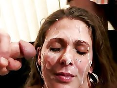 Mature facial cum shots