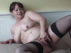 BBW, Granny, Masturbation, Mature