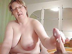 Cums chubby huge tit mature