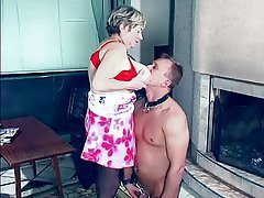 Femdom, Granny, Mature, Old and Young, Russian