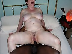 Amateur mature wife cream interracial